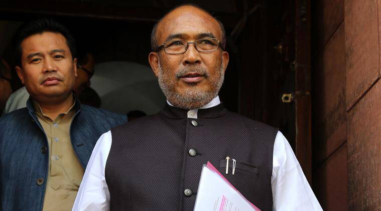Biren Singh, Manipur chief minister, Indian Express