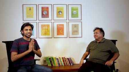 WATCH: Ever wondered what Devdutt Pattanaik and comedian Biswa Kalyan Rath would talk about?