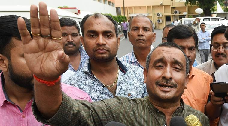 CBI detains Unnao MLA Kuldeep Singh Sengar in Unnao rape case