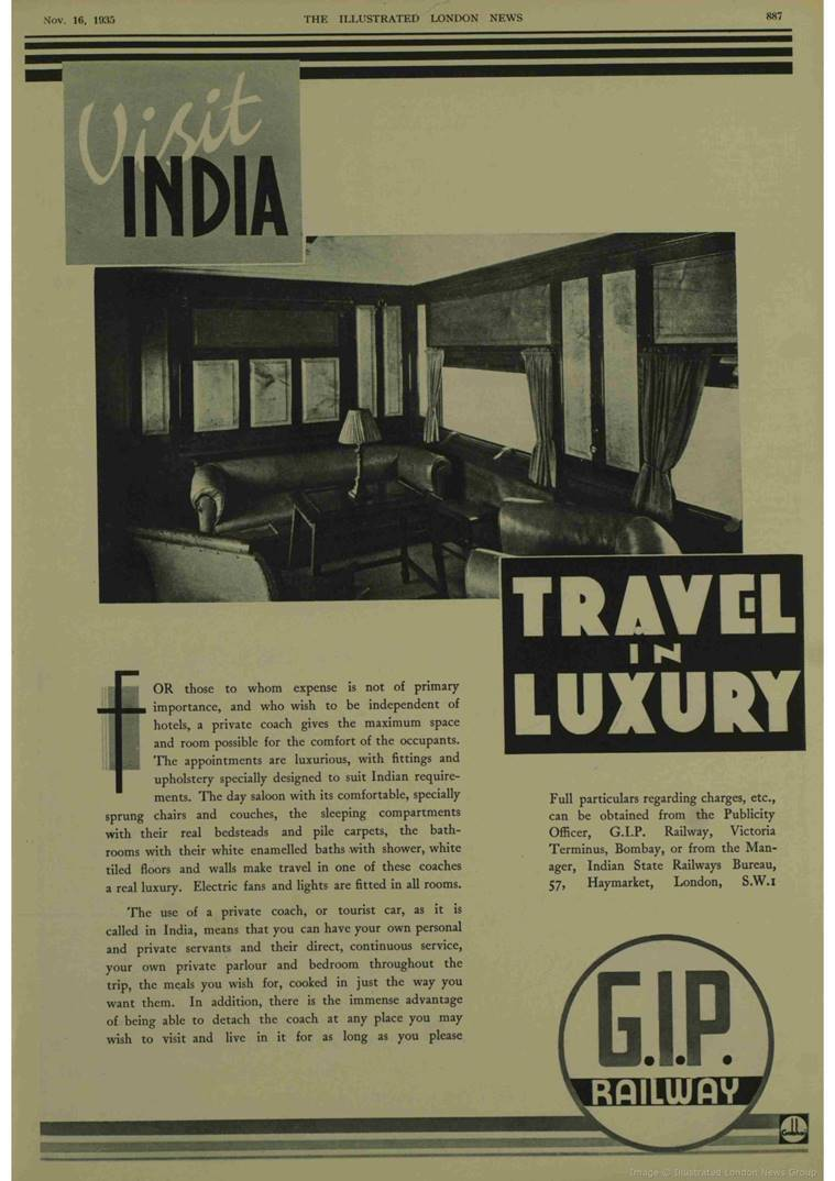 travel in luxury indian railways