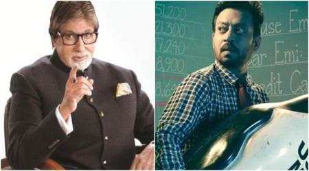 Amitabh Bachchan lauds Irrfan Khans Blackmail, says happy to see such creativity