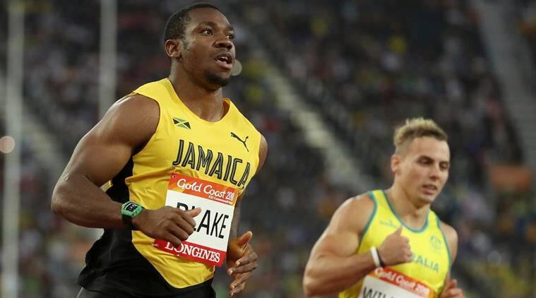 Yohan Blake beaten by South African duo at 2018 Commonwealth Games