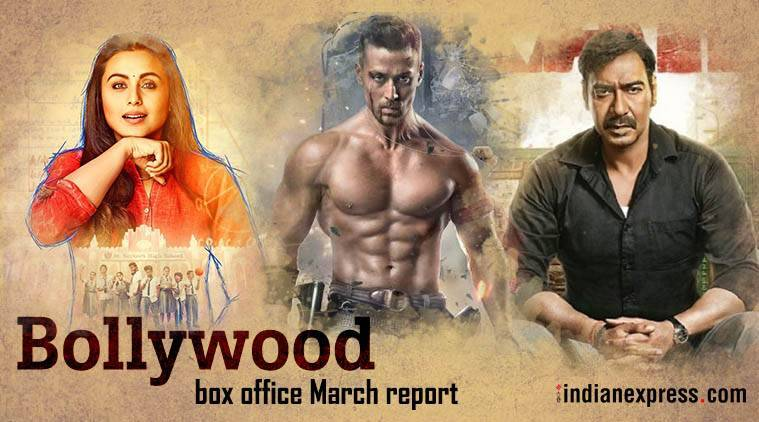 bollywood march box office baaghi 2 raid