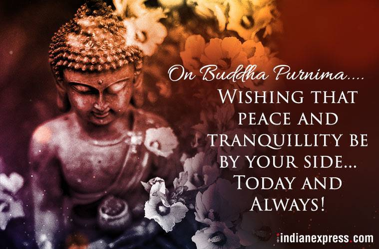 Buddha Purnima is being celebrated today with religious fervour