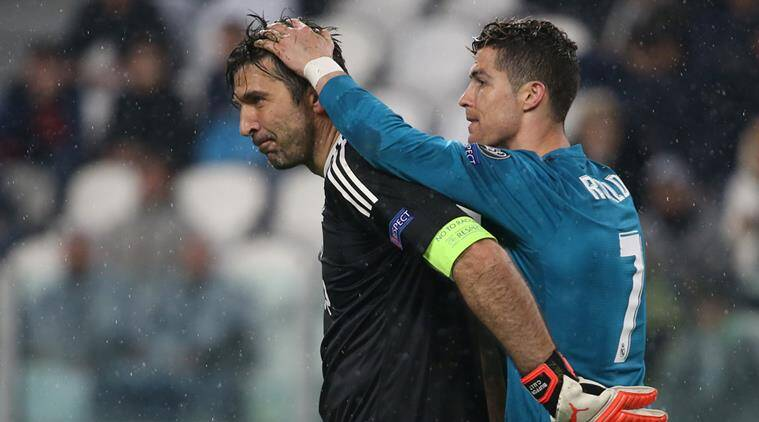 Buffon slams referee for 'not showing character'