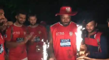 IPL 2018: Chris Gayle celebrates century with Preity Zinta and KXIP teammates; watch video