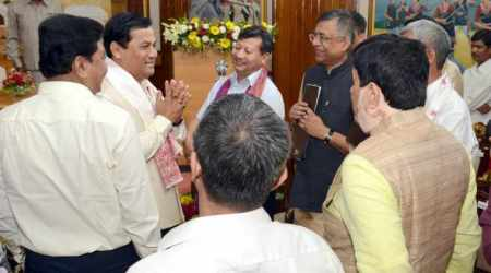 Assam CM Sonowal expands cabinet after two years, inducts seven new ministers