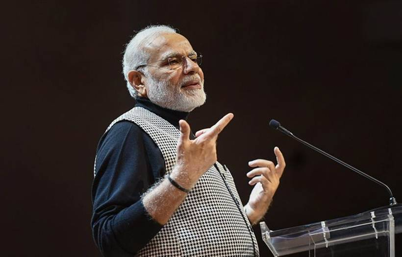 Modi is in London to attend the Commonwealth Heads of Government Meeting.