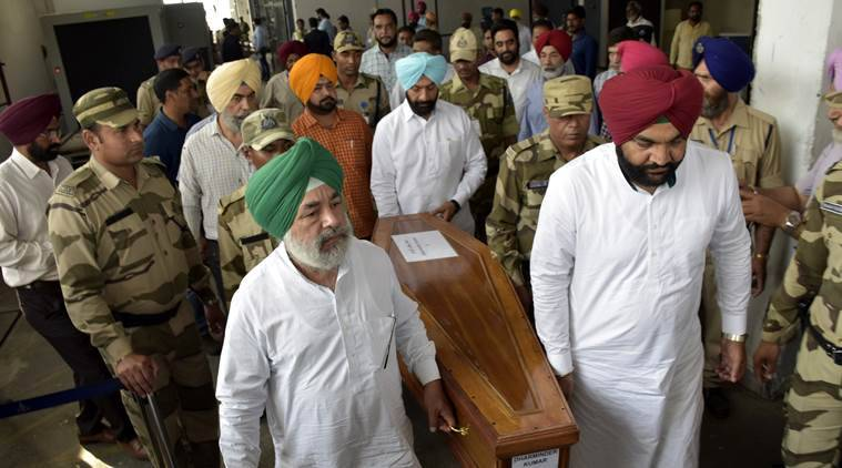 Bodies of Indians killed in Iraq returns to Punjab