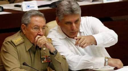 Raul Castro, Miguel Diaz-Canel, Cuban president, cuba president, India news, Indian Express news