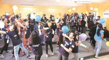 Vile Parle woman holds dance therapysessions