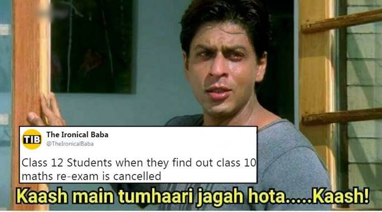Cbse Says No Re Exam For Class 10 Maths Twitterati Celebrate But