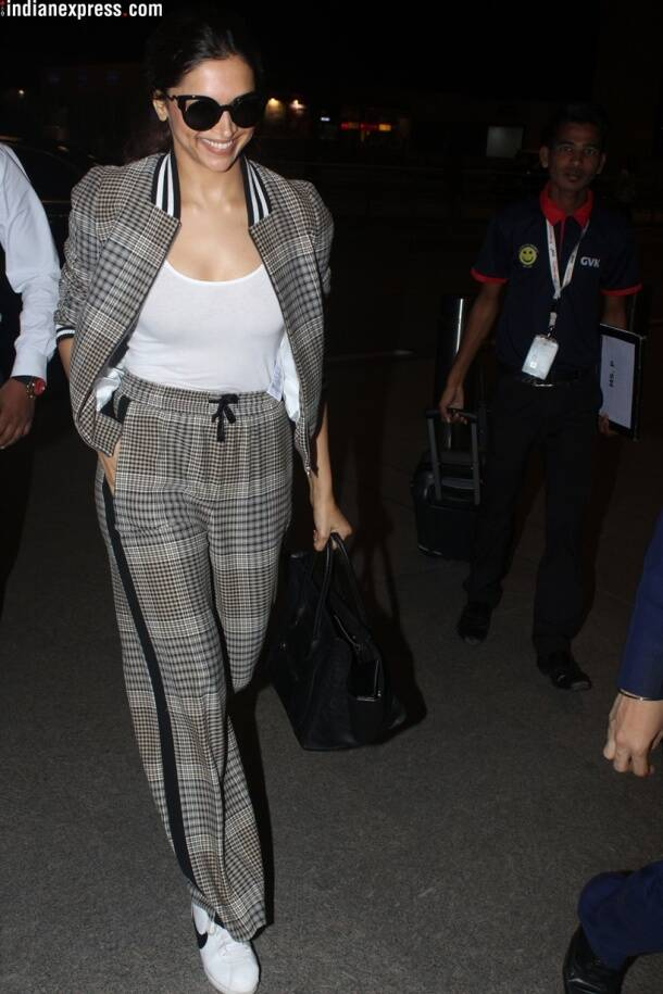 deepika padukone at airport