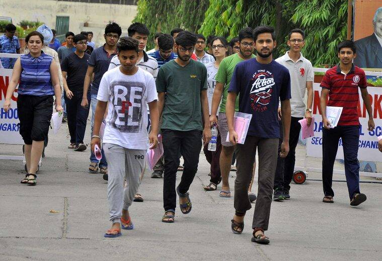 Main easy compared to previous year: students