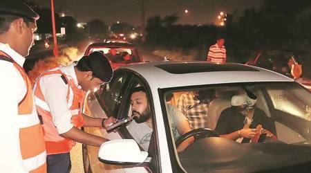 Chandigarh: Police start seizing vehicles used for public drinking, 27 held, 5 vehicles impounded