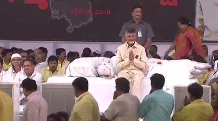 Chandrababu Naidu Birthday, Cm Chandrababu Naidu, Andhra Pradesh, Chandrababu Naidu Hunger Strike, Andhra Pradesh Special Status, Tdp, Dharma Porata Deeksha, Fight For Justice, Telugu Desam Party