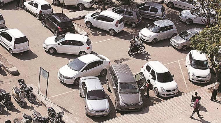 chandigarh, parking lots, chandigarh municipal corp, arya toll infra ltd, indian express