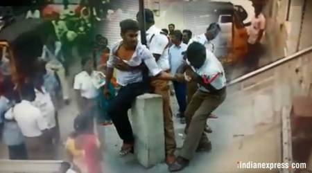 Video of police thrashing 21-year-old youth: Yet another example of Tamil Nadu's 'badpolicing'