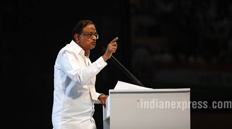 P Chidambaram criticises Indian railways