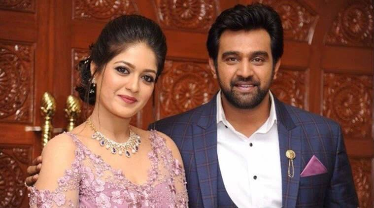 Meghana Raj and Chiranjeevi Sarja photos