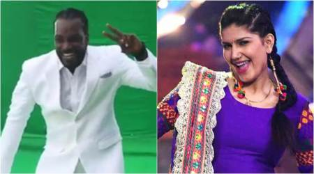 Chris Gayle danced to Sunny Leone's Laila Main Laila, not on Sapna Choudhary's Teri Aakhya Ka Yo Kajal