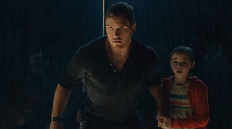 jurassic world trailer chris pratt