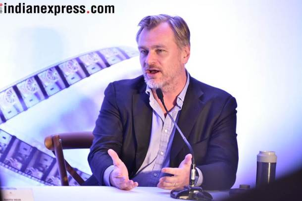 christopher nolan india visti