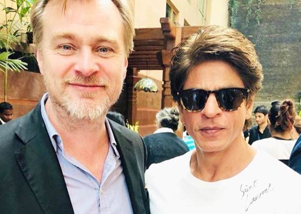 christopher nolan in mumbai with amitabh bachchan, shah rukh khan and kamal haasan
