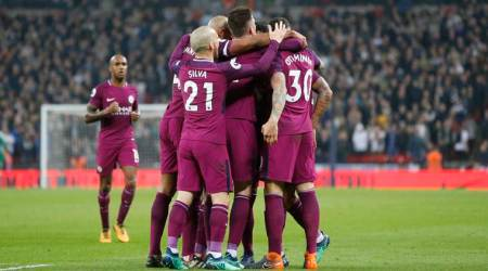 Manchester City close in on Premier League title by beating Spurs