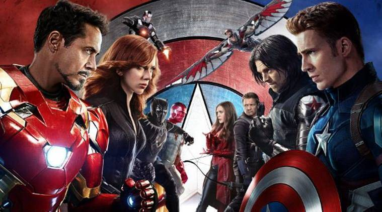captain america civil war's poster