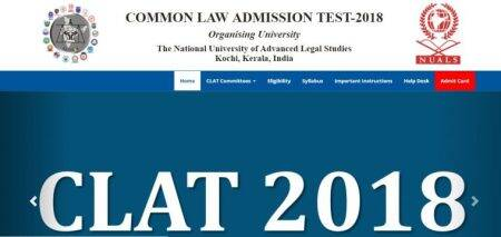 CLAT 2018 admit card on April 26 at clat.ac.in
