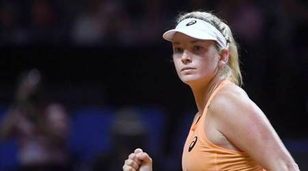 CoCoVandeweghe stuns Simona Halep to advance to Stuttgartsemi-finals