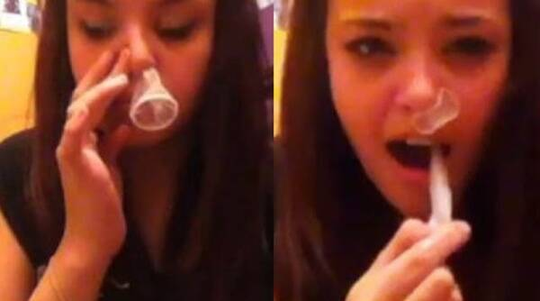 condom snorting challenge, condom snorting, condom snorting videos, viral challenges, dangerous Internet challenges, dangerous challenges on the Internet like condom snorting, Indian Express, Indian Express News