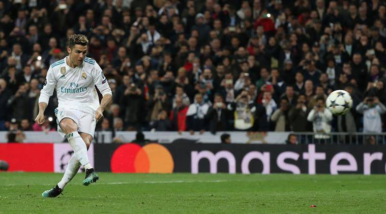 Cristiano Ronaldo Scored From The Spot In The Th Minute Of The Match To Seal The Tie Source Reuters