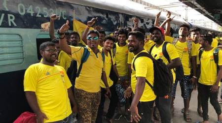 Chennai Super Kings organise special train 'Whistlepodu Express' for fans to watch CSK vs RR inPune