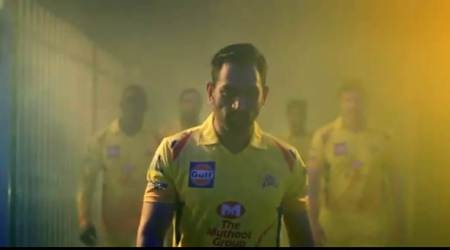 IPL 2018: MS Dhoni shakes a leg on CSK theme song