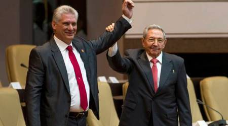 Cuba's new president vows to defend Castro revolutionary legacy