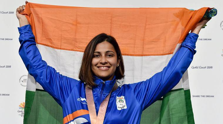 Heena Sidhu snaps CWG record, picks gold in 25m Pistol