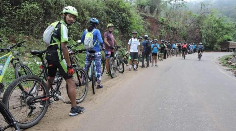 Assam, Guwahati cyclists, Bicycle Mayor, Guwahati Cycling Community