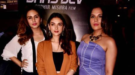Who wore what: Aditi Rao Hydari, Huma Qureshi, Richa Chadha at Daas Dev premiere