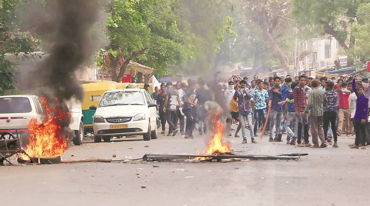 A day after Bharat bandh, violence in Rajathan, curfew in Madhya Pradesh; death toll increases to 11
