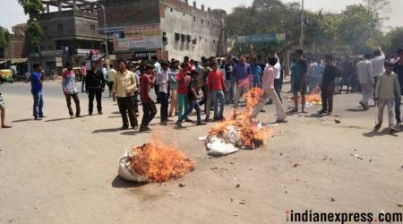 Violence during Bharat Bandh: 100 arrested in Haryana