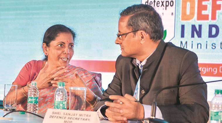 Nirmala sitharaman, Tamil Nadu, defence manufacturing hub, defence expo , chennai, India news, indian express news