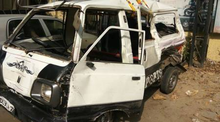 Milk tanker rams school van in Delhi: One dead, 17 injured