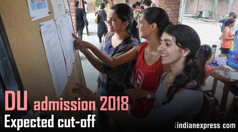 Delhi University UG Admission 2018
