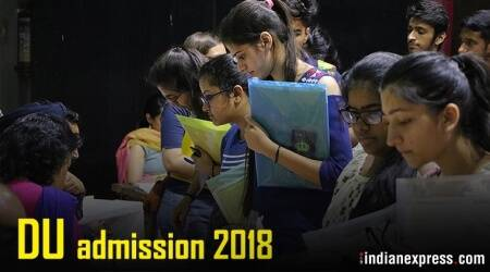Delhi University admission 2018, DU admission 2018, du.ac.in, DU admission, DU online admission process