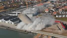 Watch how a controlled demolition, planned for six months, goes spectacularly wrong
