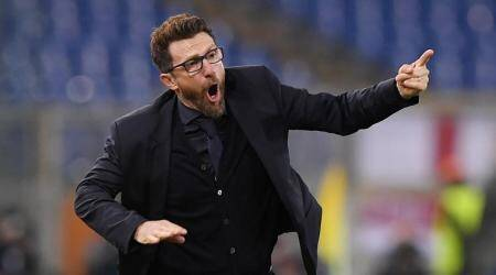 AS Roma coach Eusebio Di Francesco praised for invention after ousting Barcelona in ChampionsLeague