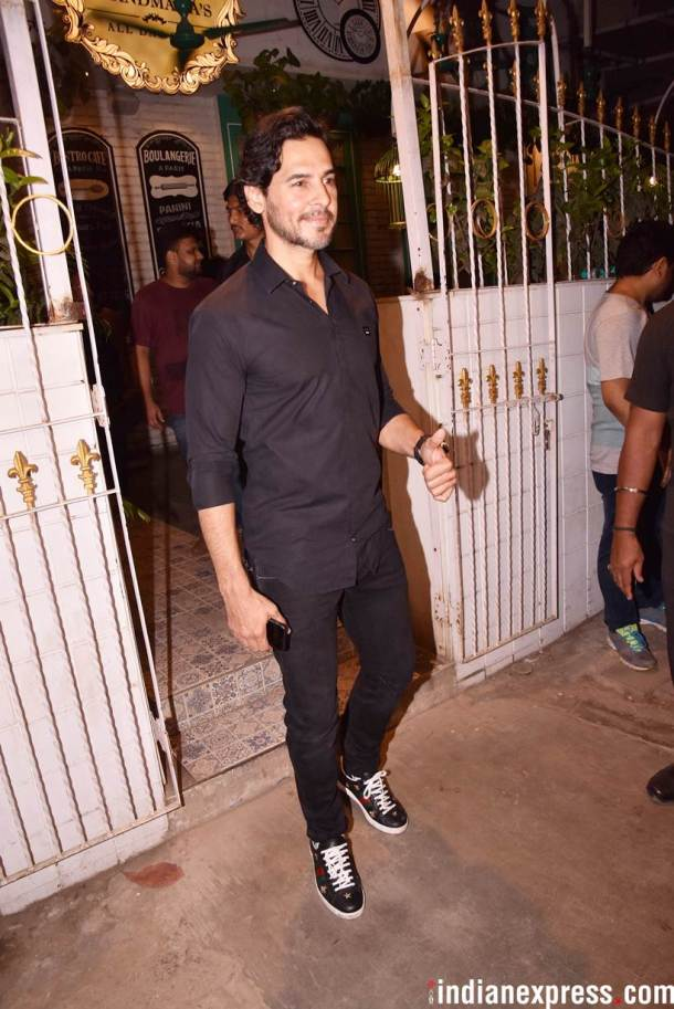 Dino morea at the party