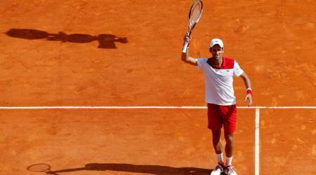 Monte Carlo: Novak Djokovic takes 10 match points to beat Borna Coric